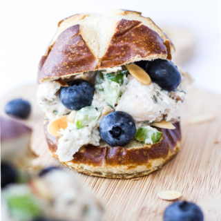 Blueberry Almond Tarragon Chicken Salad - My Chicago Kitchen