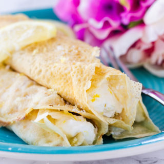 Lemon Cream Crepes - How to Love Cooking