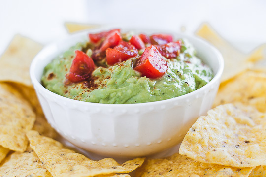 Creamy Lime Guacamole - How to Love Cooking