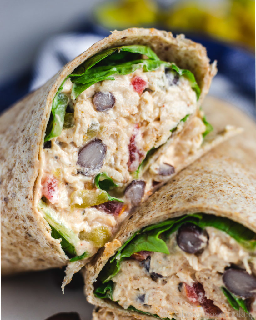 Creamy Chicken Taquito Salad - How to Love Cooking